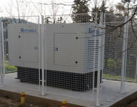 Backup power supply for Hospital in Štip Macedonia